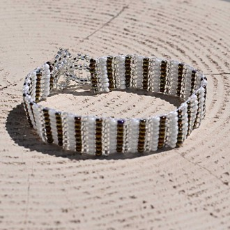 handmade-ethnic-Thin-seed-bead-bracelet