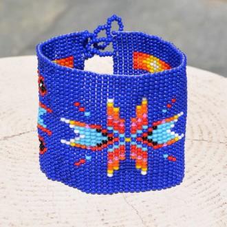 Wide-Cuff-ethnic-handmade-seed-bead-bracelet