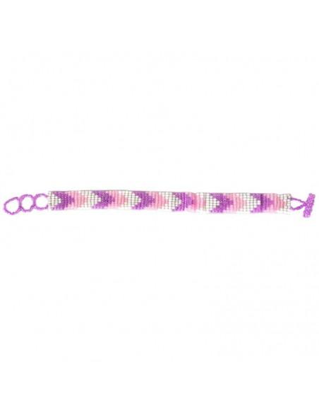 Thin Ethnic Seed Beads Bracelet