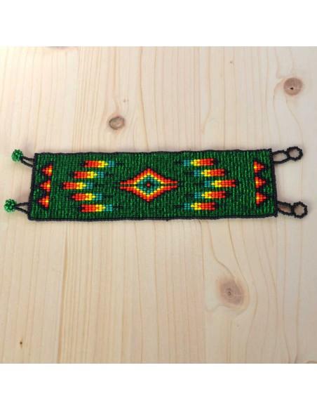 Ethnic Cuff Beaded Bracelet
