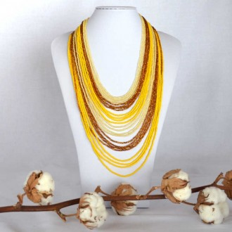 Collier Chingo jaune