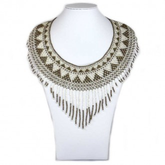 Collier ipala marron