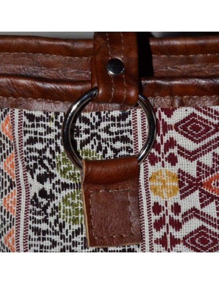 Ethnic Brown Handbag TIKAL