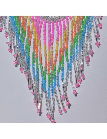 collier tacana multicolore