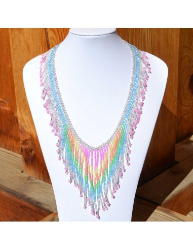 collier tacana multicolore