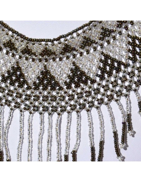 IPALA Brown Ethnic Seed beads Necklace
