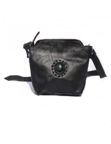 Leather Little Sling Bag Black DULCE