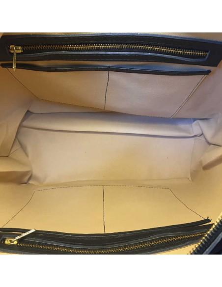 Black COBAN M Boho Tooled Leather Slingbag