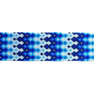 Manchette-Bracelet-Brésilien-Large-Bleu-2