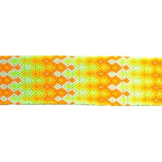 Manchette-Bracelet-Brésilien-Large-Jaune-2