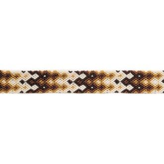 Bracelet Brésilien Interchangeable Medium Marron