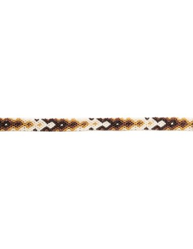 Bracelet Brésilien Interchangeable Fin Marron
