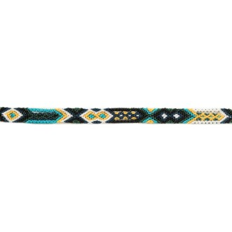 Bracelet Brésilien Interchangeable Fin Noir