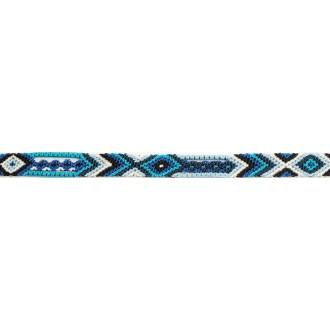 Bracelet Brésilien Interchangeable Fin Bleu