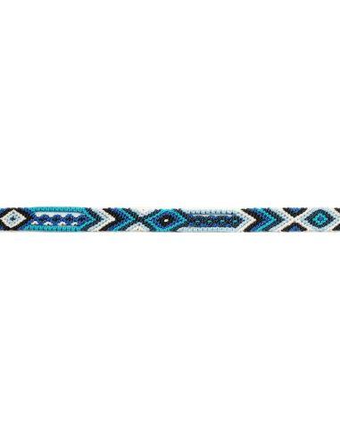 Bracelet Brésilien Fin Bleu