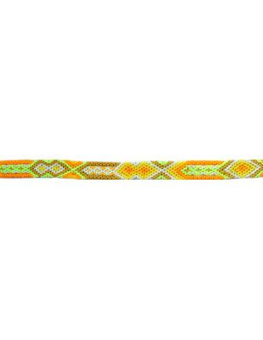 Bracelet Brésilien Interchangeable Fin Jaune