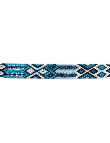 Bracelet Brésilien Interchangeable Medium Bleu
