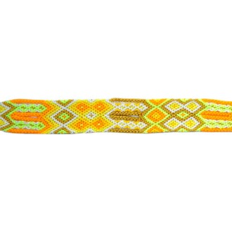 Bracelet Brésilien Interchangeable Medium Jaune