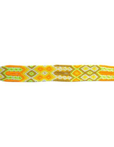 Bracelet Brésilien Interchangeable Medium Jaune