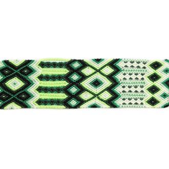 Manchette-Bracelet-Brésilien-Large-Vert