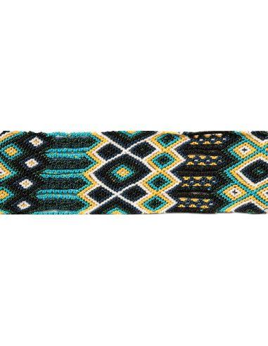 Manchette-Bracelet-Brésilien-Large-Noir-2