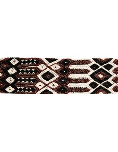 Manchette-Bracelet-Brésilien-Large-Marron