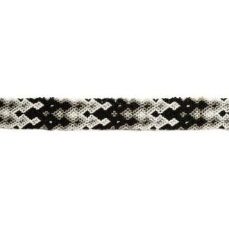 Bracelet Brésilien Interchangeable Medium Noir