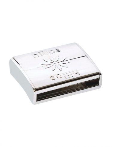 Rhodium Magnetic Clasp 22 mm