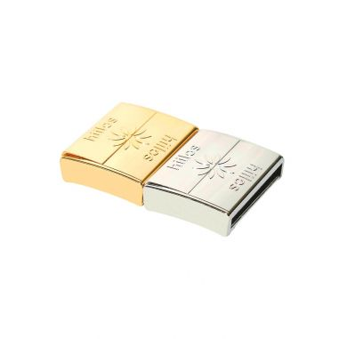 Gold and Rhodium 22 mm Clasps Pack