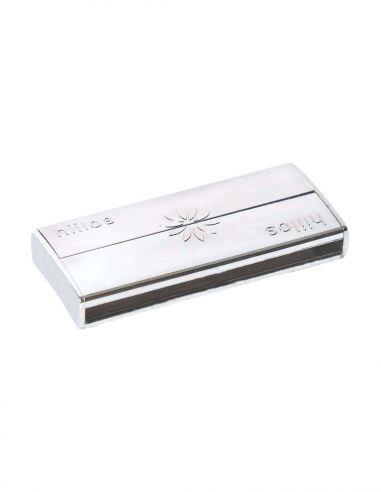 Fermoir Rhodium 45 mm