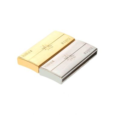 Gold and Rhodium 45 mm Clasps Pack