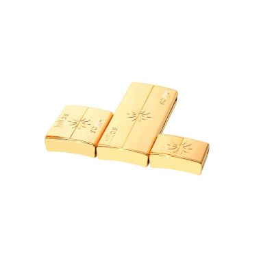 Gold Clasps 3 sizes Pack