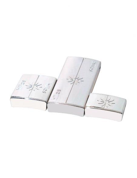 Platinum Clasps * 3 sizes Pack