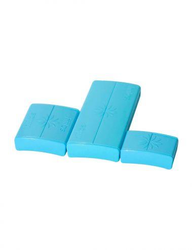 Pack Fermoirs Bleu * 3 Tailles