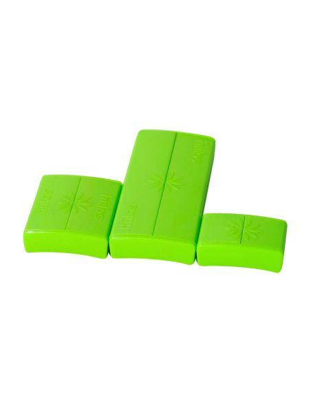 Pack Fermoirs Vert * 3 Tailles