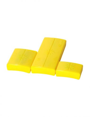 Pack Fermoirs Jaune * 3 Tailles