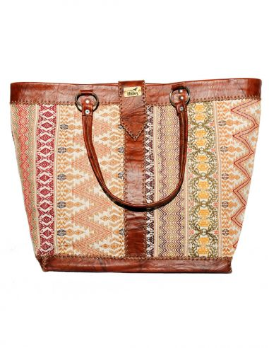 Ethnic Brown Handbag BIG PANAJACHEL