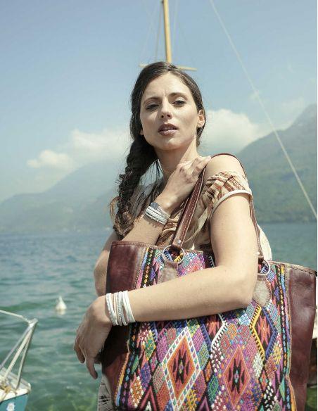Ethnic Multicolored Handbag TIKAL