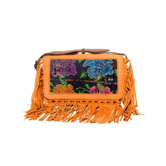 SOLOLA Small Boho fringes Slingbag