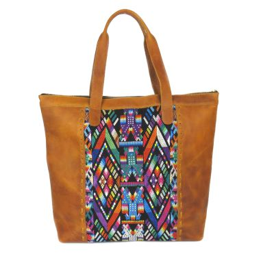 Ethnic Tote Bag Multicolor BENITO