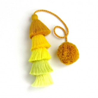 Yellow Long Tassel