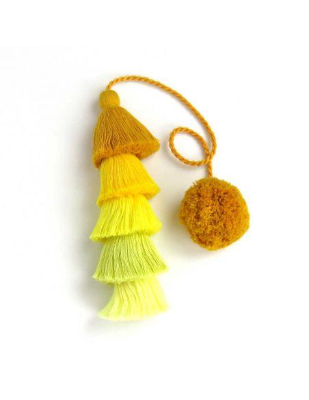Yellow Long Tassel