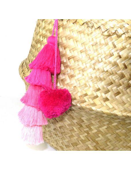 Pink Long Tassel