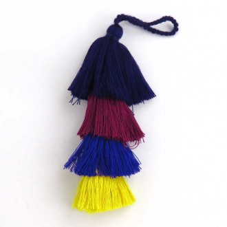 Multicolored Long Tassel