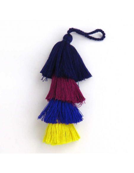 Multicolored Long Tassel