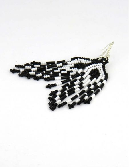 Ethnic glass beads Earings