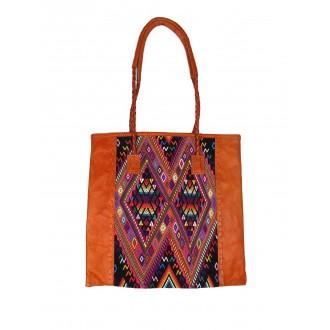 sac-cabas-ethnique-QUETZAL-orange
