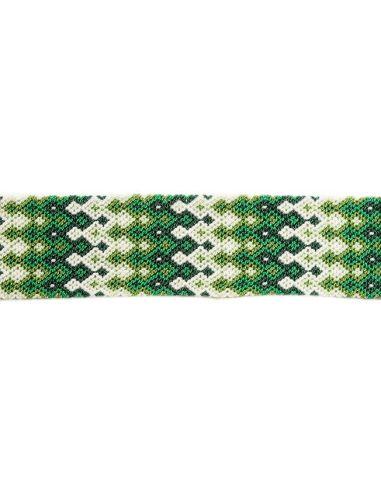 Manchette-Bracelet-Brésilien-Large-Vert-2