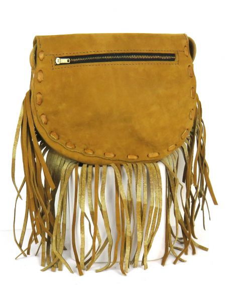 Ethnic Little SlingBag Multicolored Fringes CHICHI