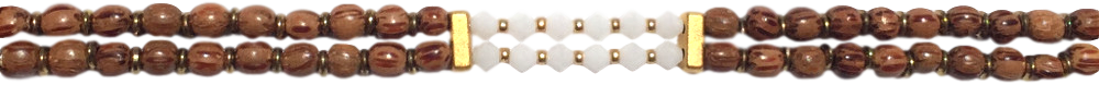 toupies-swarovski-blanches-et-perles-rondes-marrons